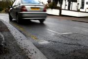 County council commits a further £1 million to fixing Hertfordshire's roads