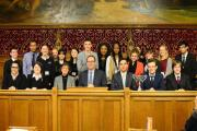 Schools from Watford and Bushey compete in debate at House of Commons