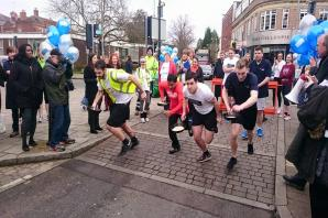 IN PICTURES: Runners raise thousands for Watford Mencap in Rickmansworth pancake race